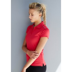 POLO MANCHES COURTES FEMME PROACT PA481