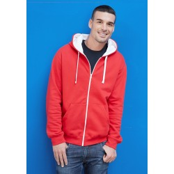Sweat-shirt zippé capuche contrastée KARIBAN K466