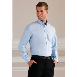 OXFORD SHIRT CHEMISE OXFORD HOMME MANCHES LONGUES RUSSELL COLLECTION RU932M