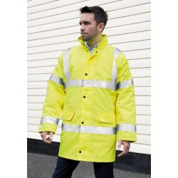 GILET DE SECURITE CORE EN471 MOTORWAY COAT MANTEAU HAUTE VISIBILITÉ EN471 RESULT R218X
