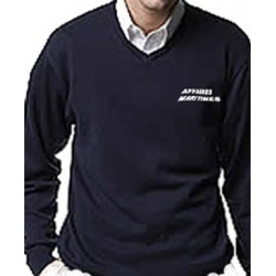 Pull col v Affaires Maritimes