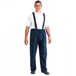 Pantalon de pluie PU/PVC à bretelles