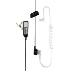 Micro oreillette avec tube acoustique et PTT