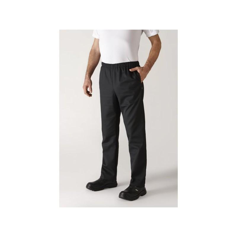 Pantalon de cuisine noir UMINI Robur