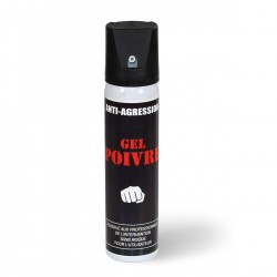 Aérosol anti-agression gel poivre 75 ml