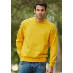 SWEAT-SHIRT SET IN SWEAT (62-202-0) SWEAT-SHIRT MANCHES DROITES FRUIT OF THE LOOM SC163