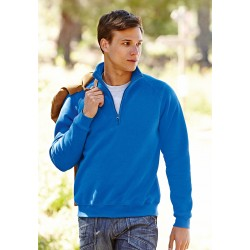SWEAT-SHIRT ZIP NECK SWEAT (62-032-0) SWEAT-SHIRT COL ZIPPÉ FRUIT OF THE LOOM SC165