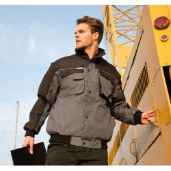 WORKGUARD DUTY PILOT JACKET BLOUSON PILOTE WORKGUARD MANCHES AMOVIBLES RESULT R71