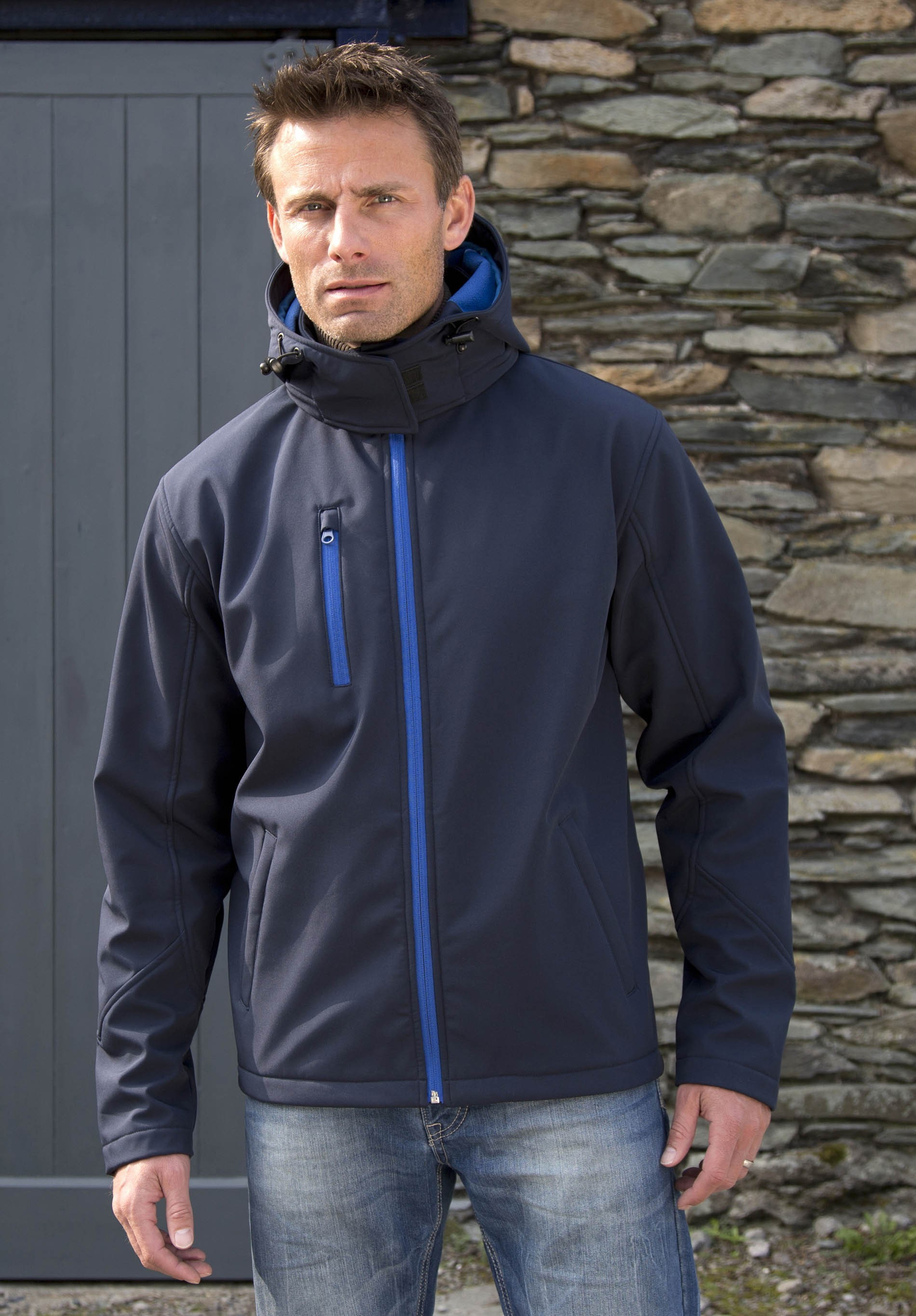 Softshell Homme Distribution Capuche Arc Veste PRwdqP