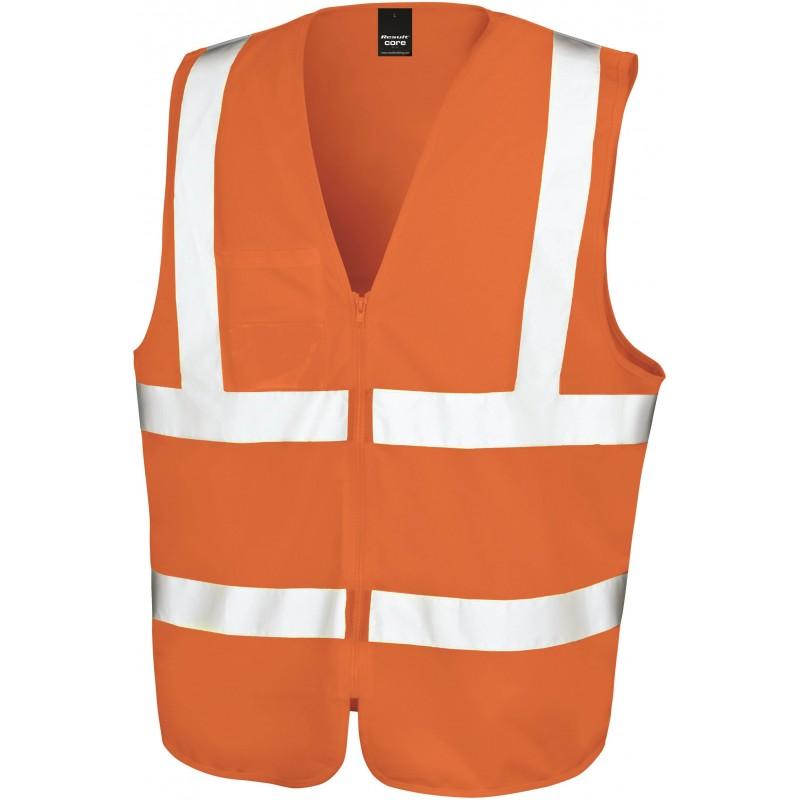Zip Safety Tabard Gilet de sécurité zippé RESULT R202X