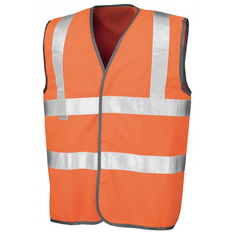 GILET SECURITE SAFEGUARD HIGH VIZ VEST EN471 GILET DE SÉCURITÉ RESULT R21