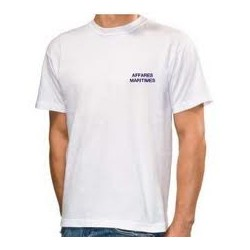 Tee Shirt Affaires Maritimes