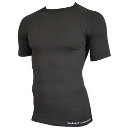 Tee-Shirt 1èrepeau Manches Courtes Technical Line - Noir