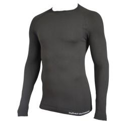 Tee-shirt thermorégulant Technical Line. Noir