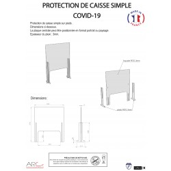 PROTECTION CAISSE MODULAIRE