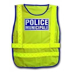 CHASUBLE HAUTE VISIBILITÉ POLICE MUNICIPALE
