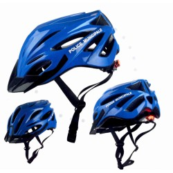 CASQUE VTT A LED POLICE MUNICIPALE