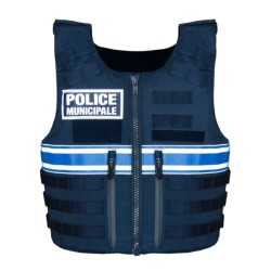 GILET PARE BALLE FULL TACTICAL POLICE MUNICIPALE HOMME