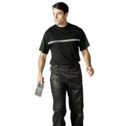 Tee-shirt Sécurité bande grise